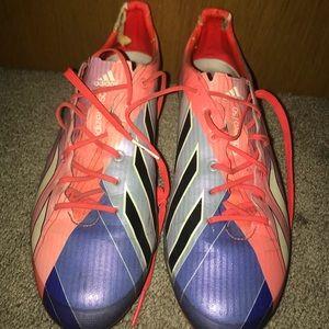 Messi adizero. adidas soccer cleats.